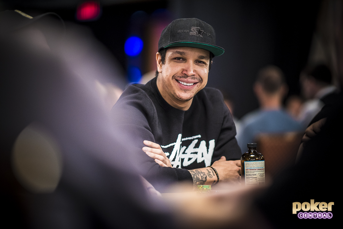 Felipe Ramos in action during the 2018 World Series of Poker.