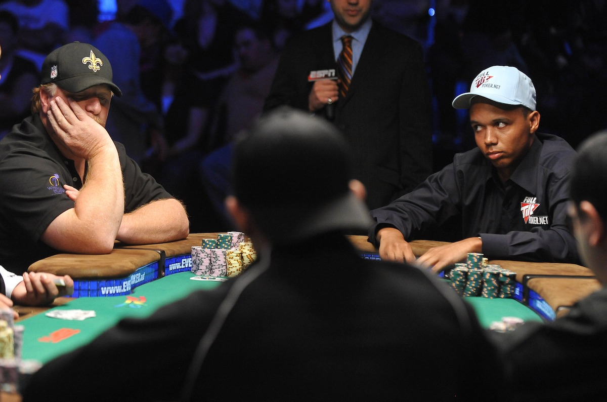 That time Phil Ivey couldn't figure out Darvin Moon! (Photo: Getty Images)