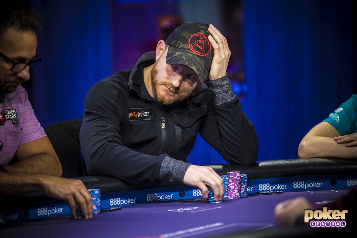 Jason Koon was the next out the door when he was on the unfortunate end of a cooler situation. Koon moved his short stack all in holding ace-ten but ran into the ace-king of eventual winner Ali Imsirovic.
