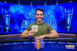 The Champ! Koray Aldemir wins Event #9 - $50,000 No Limit Hold'em at the 2019 US Poker Open.