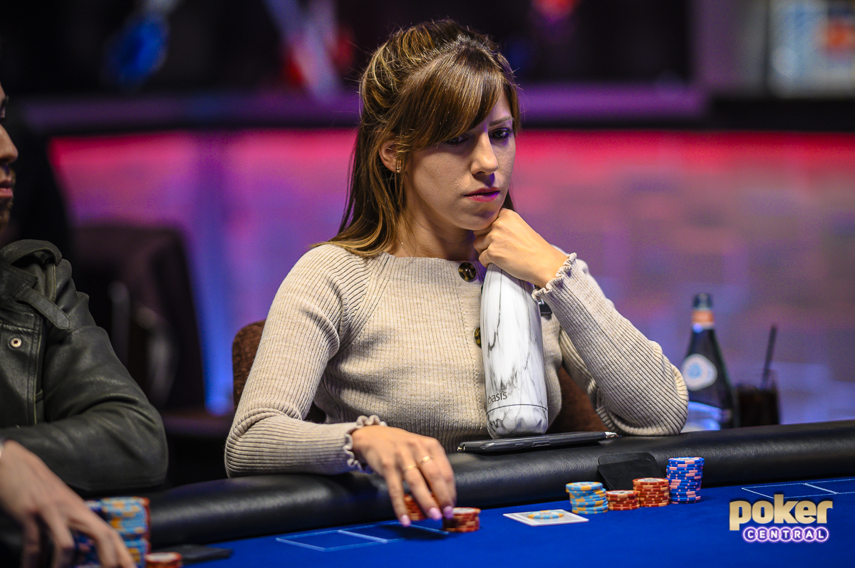 Kristen Bicknell is looking for her first U.S. Poker Open title today.