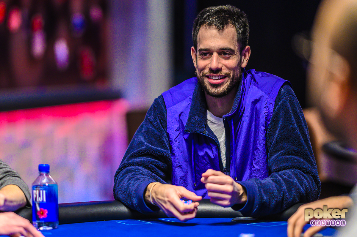 Nick Schulman had plenty of reason to smile at the 2019 US Poker Open.