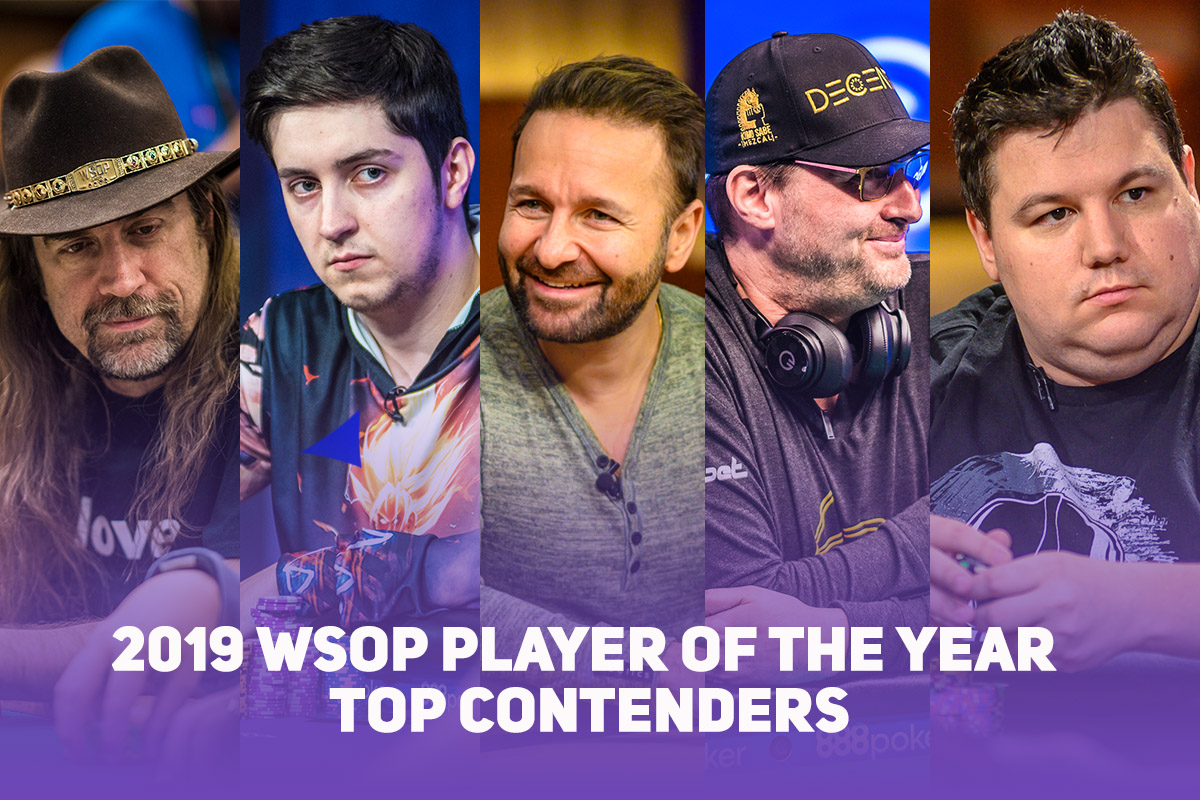 Here's a breakdown of the top contenders for the 2019 WSOP Player of the Year honors!