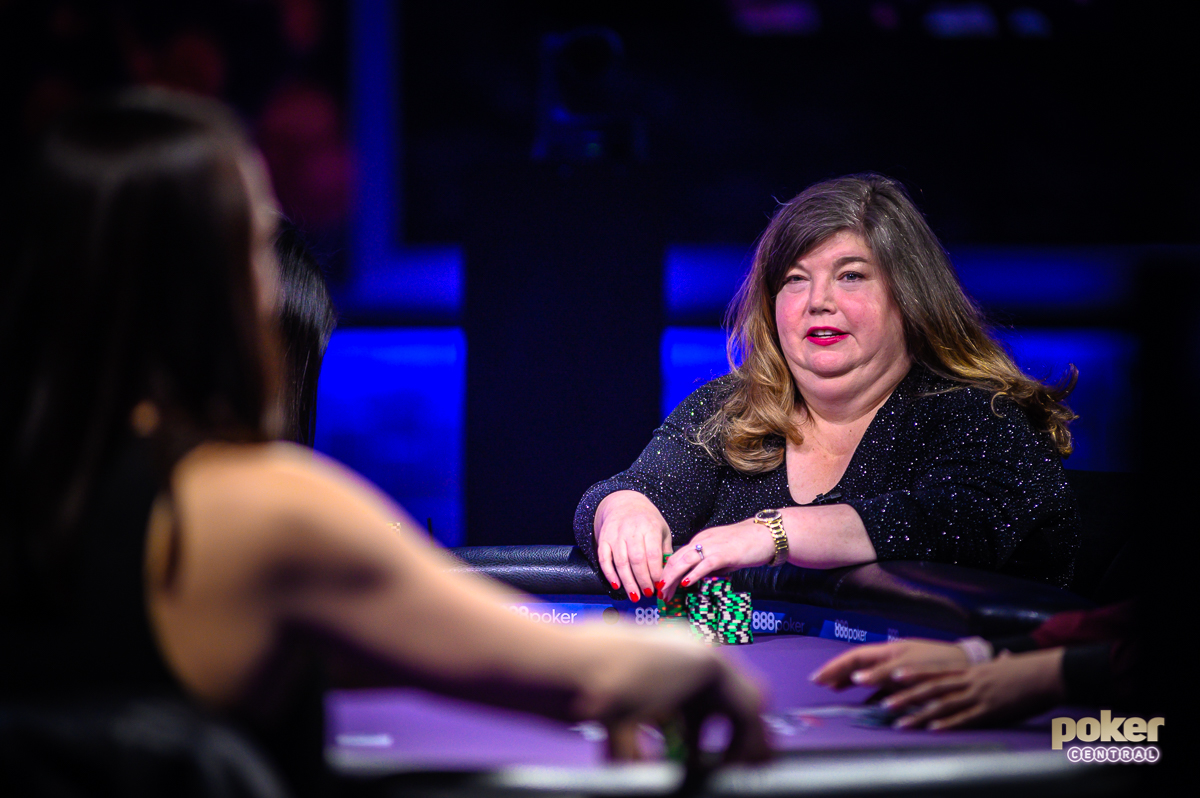 Denis Pratt in action during Femme Fatale II on Poker After Dark.