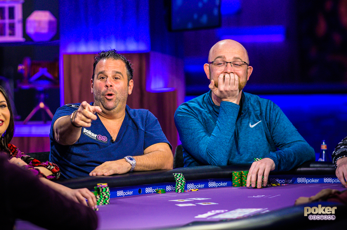 "Randall Emmett stealing the show during ""Run it Once"" week on Poker After Dark."