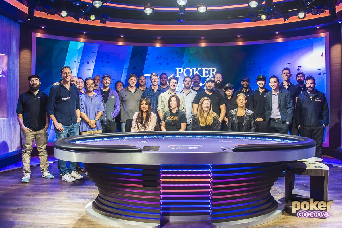The team behind it all! The Poker PROductions staff is responsible for bringing you all of the live action from the new PokerGo studio! Big shout out to them, and I'm already looking forward to the 2019 U.S. Poker Open and Super High Roller Bowl.
