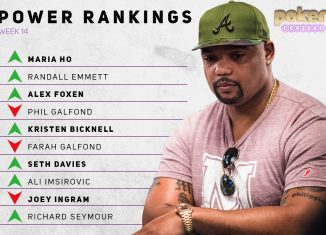 Richard Seymour makes his debut inside the Poker Central Power Rankings!