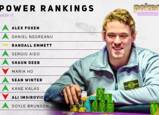 The Week 17 Poker Central Power Rankings shake things up in a large way! Alex Foxen jumps into the top spot.