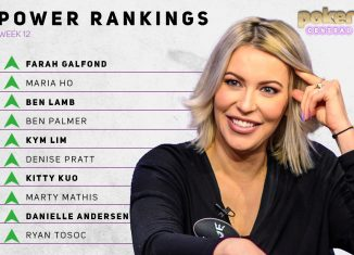 Farah Galfond is the first woman to take the No. 1 spot on the Poker Central Power Rankings!