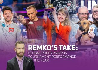 Remko Rinkema takes a look at the nominees for the Global Poker Awards for 2018 Tournament Performance of the Year.