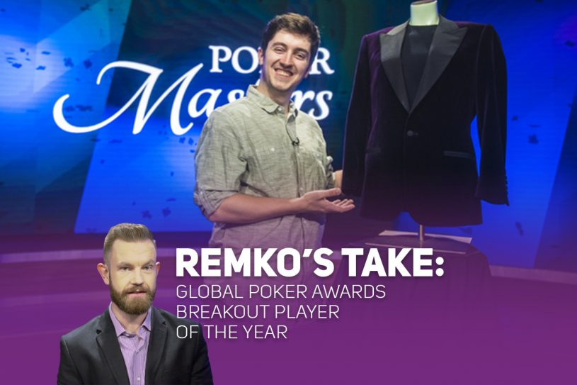 Remko Rinkema dives into the 2018 Global Poker Award for Breakout Player of the Year.