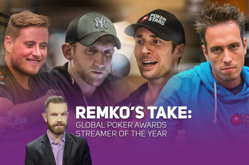 Remko breaks down the Global Poker Awards for Streamer of the Year.