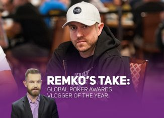 Andrew Neeme is Remko's pick for 2018 Vlogger of the Year. (Photo: PokerPhotoArchives.com)