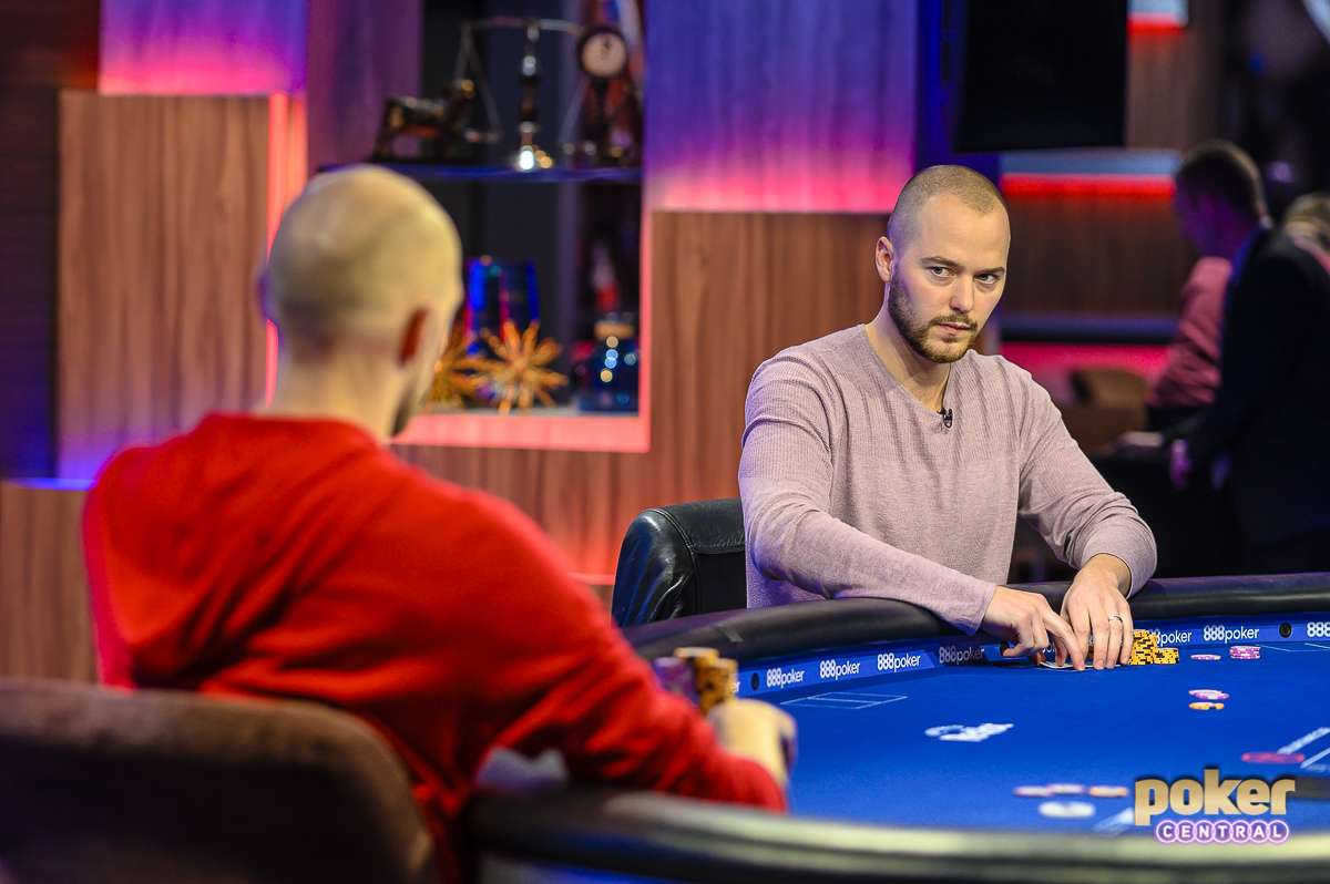 Are we headed for an Event #1 repeat? Sean Winter and Stephen Chidwick could square off again at today's final table.