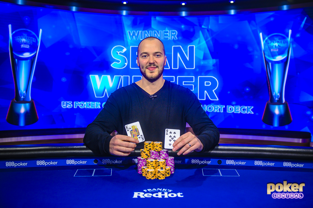 Sean Winter wins Event #4 at the 2019 U.S. Poker Open - $10,000 Short Deck for $151,200.