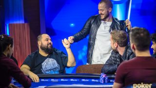 Sean Winter graciously exists short of the money at the final table of the 2019 U.S. Poker Open Main Event, an elimination that would ultimately cost him the trophy by just 10 points.