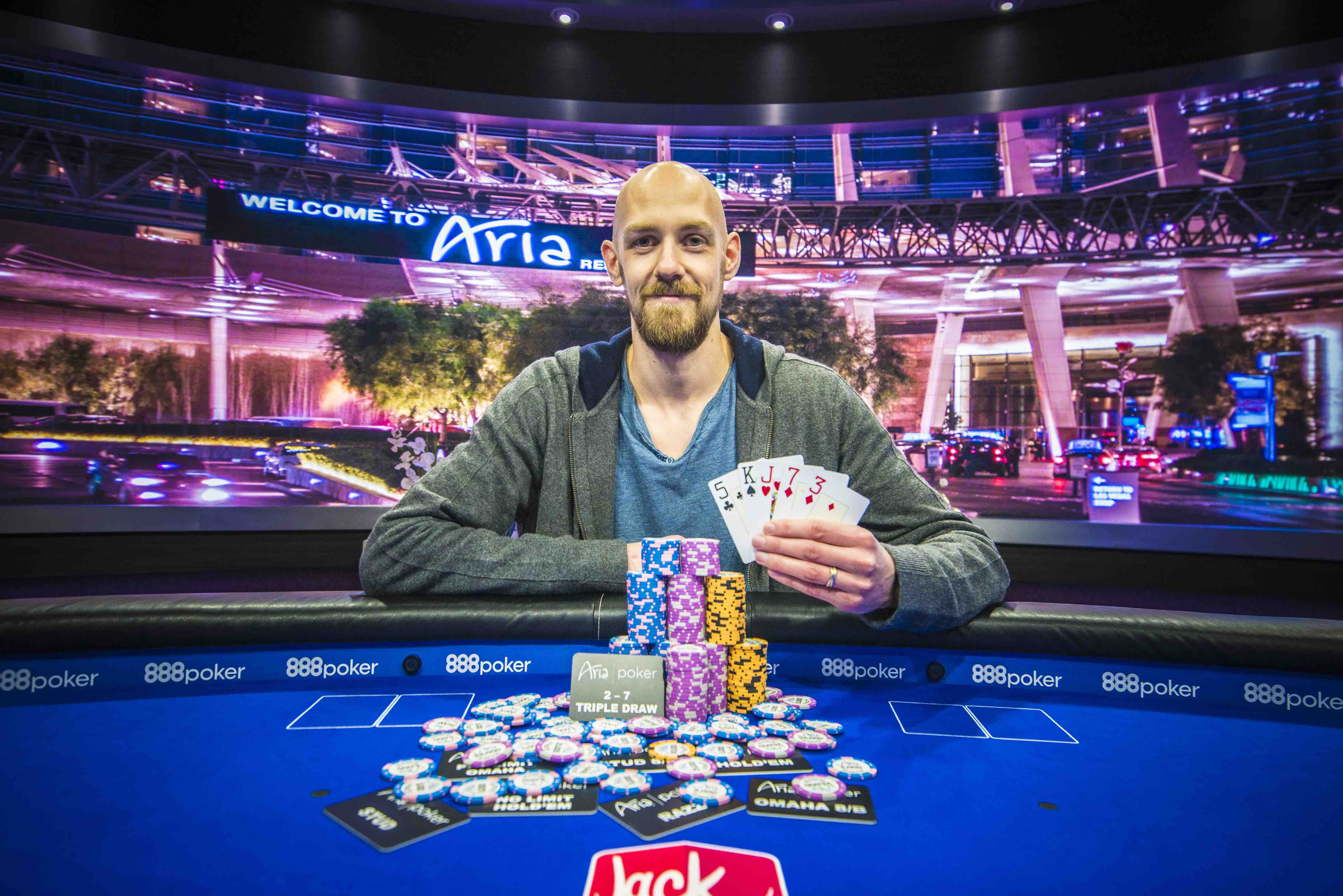 Stephen Chidwick wins the $25,000 Mixed Game Championship at the 2018 U.S. Poker Open.