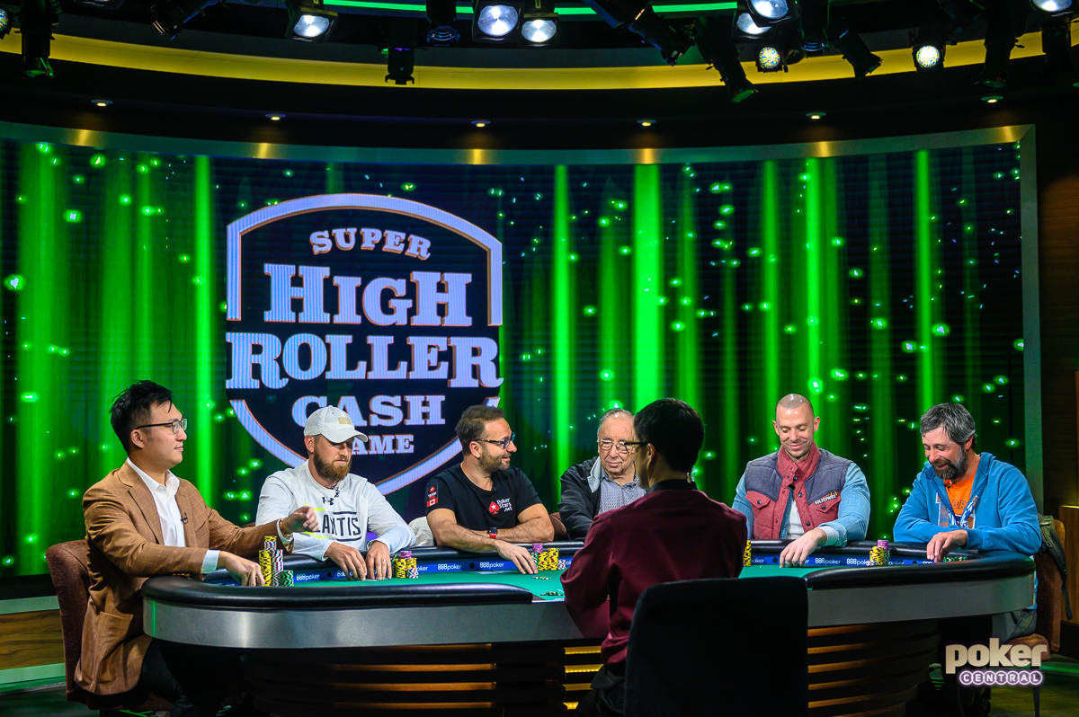 The action is live right now from the PokerGO Studio!