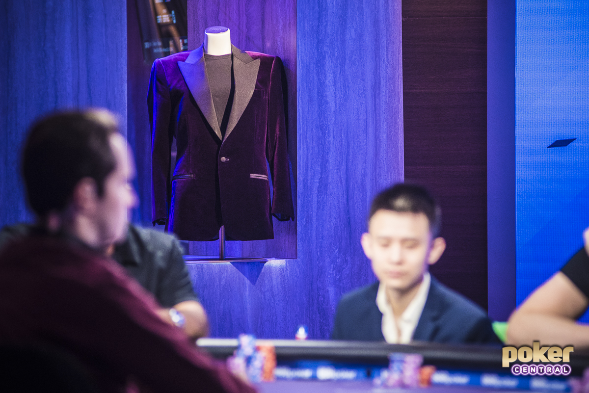 The Purple Jacket on Display: This is what it's all about at the 2018 Poker Masters. At the end of an intense week of high stakes action, the second ever champion will be crowned, following in the footsteps of Steffen Sontheimer.