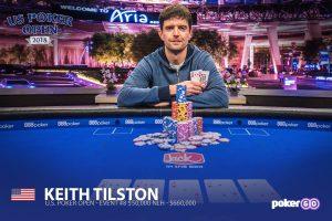 Keith Tilston wins U.S. Poker Open Event #7.