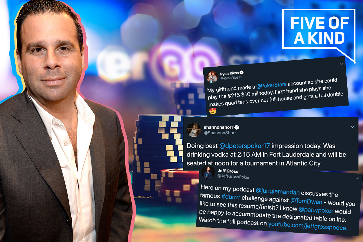 Randall Emmett's emergence on the Poker Central Power Rankings had Hollywood buzzing!