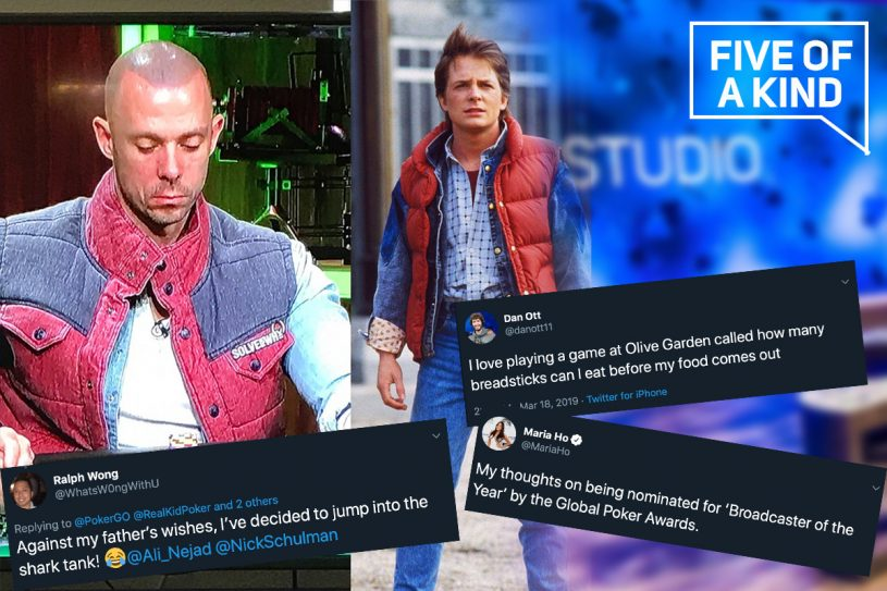Five of a Kind brings you all the funniest moments on poker twitter!