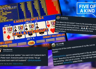 Five of a Kind brings you all the latest goodies from poker twitter!