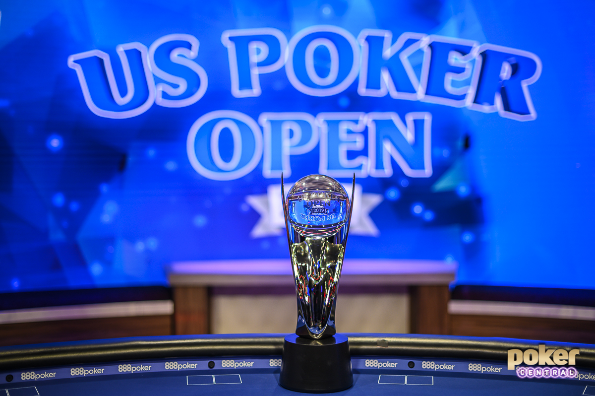 Who will take home the U.S. Poker Open Trophy?