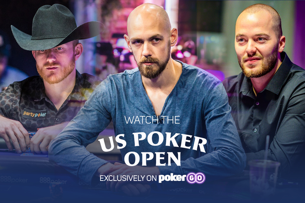 Relive the entire U.S. Poker Open on PokerGO right now.