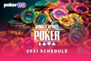 WSOP 2021 Schedule Released - 88 Bracelet Events