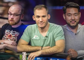 Dylan Linde, Justin Bonomo, and John Cynn are up for the Global Poker Award for Tournament Performance of the Year next week!