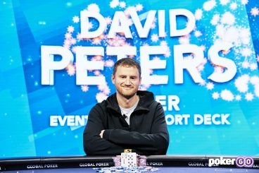 David Peters Scores Second Win at 2021 U.S. Poker Open by Taking Down The Short Deck Event