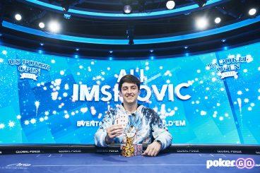 Ali Imsirovic Grabs Event #9 Win and a Commanding U.S. Poker Open Championship Lead