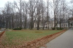 Park near the Cieplice Spa
