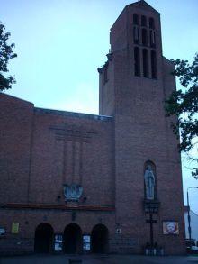 Church in Tuchola, Poland
