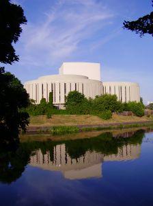 Opera building in Bydgoszcz