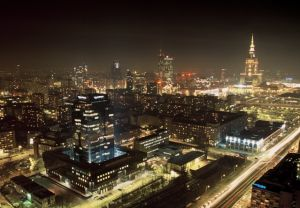 Warsaw, capital of Poland, is a big and modern city