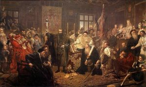 Unia Lubelska (Union of Lublin), by Jan Matejko