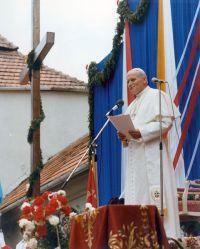Pope Jean Paul II in Kalwaria