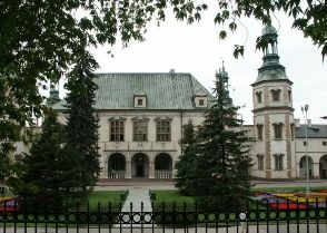 A baroque bishop's palace in Kielce