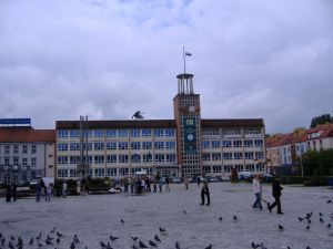 City hall of Koszalin