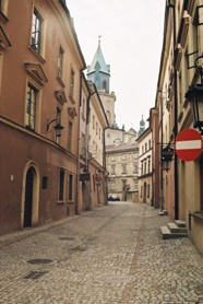 A street in old town of Lublin