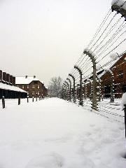 Auschwitz concentration camp in Oswiecim