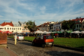 Main Square in Rzeszow