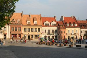 Main square of Sandomierz