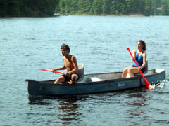 Canoeing is one of the many summer sports you can experience in Poland