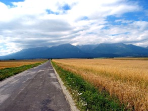 Road to Tatra Mountains