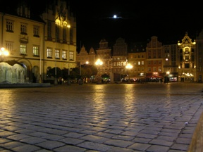 Main market in Wroclaw