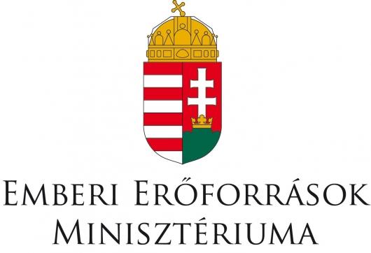 Támogatónk: az Emberi Erőforrások Minisztériuma