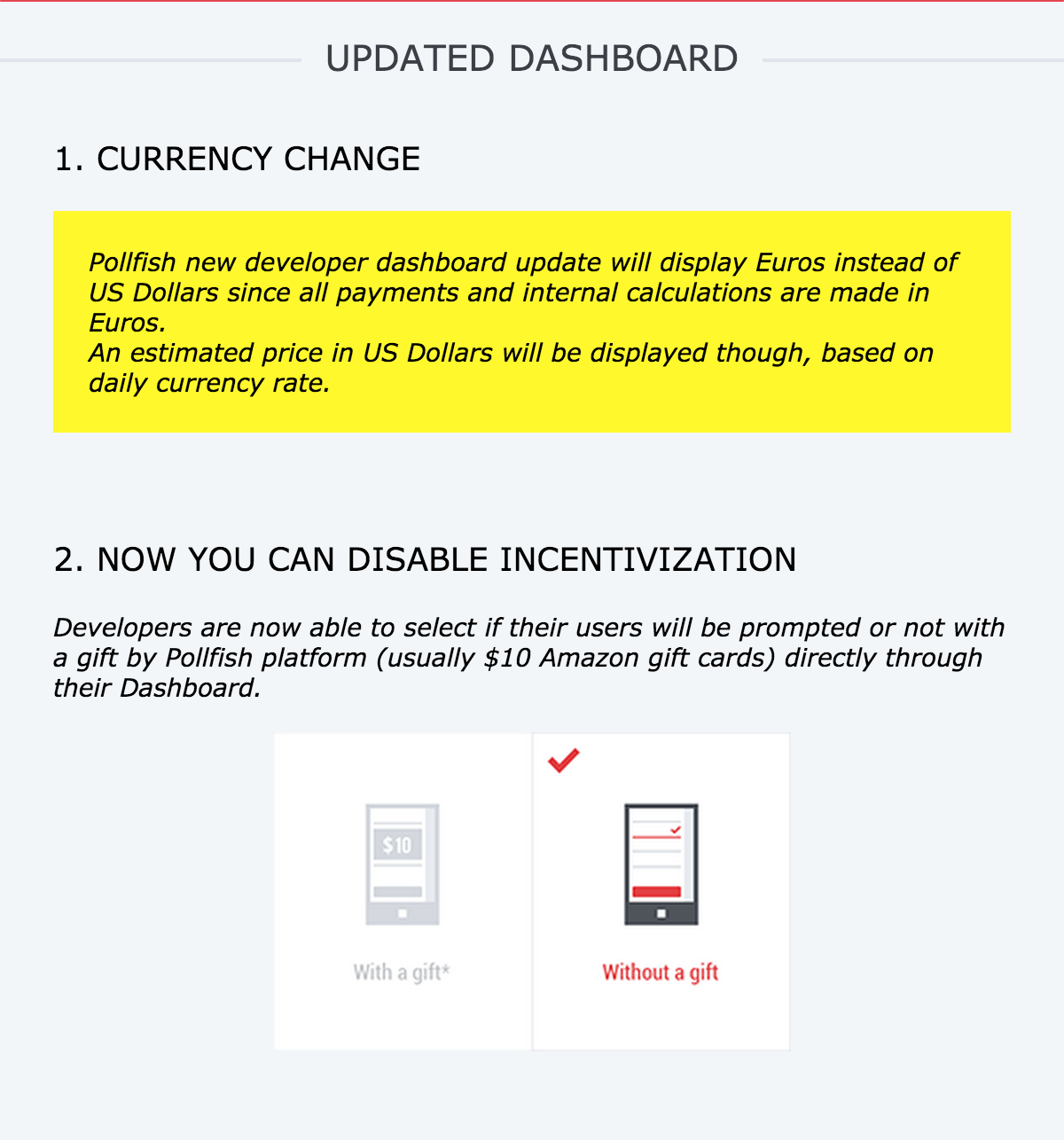 Pollfish New SDK with Lollipop support is out and other important